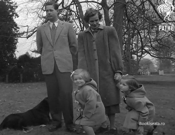 regele si familia in Anglia