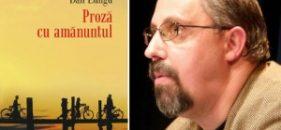 Proză cu amănuntul, de Dan Lungu, va apărea în Macedonia